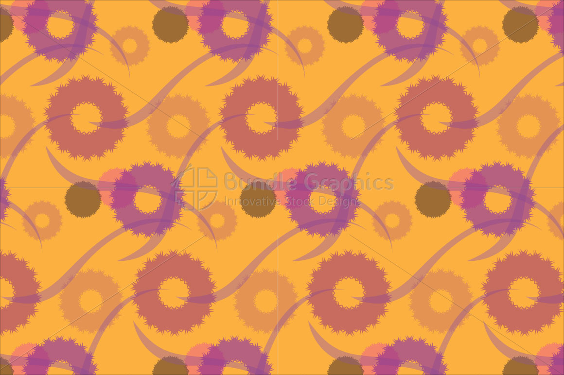 Creative Floral Seamless Pattern Background  example image 1