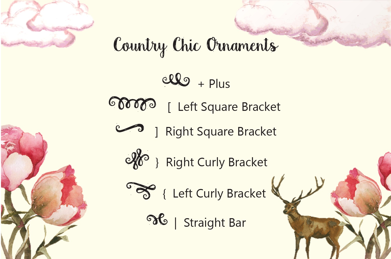 Country Chic Script example image 5