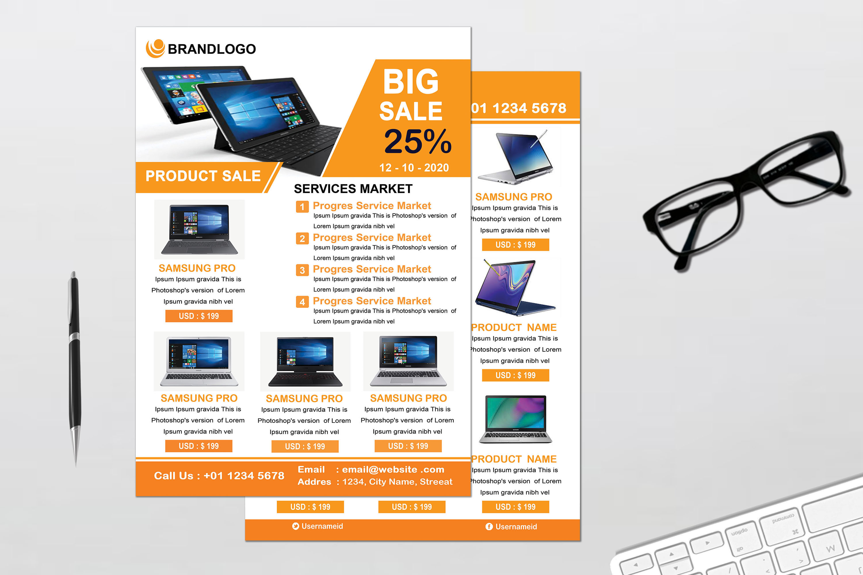 Product Promotion Flyer example image 3