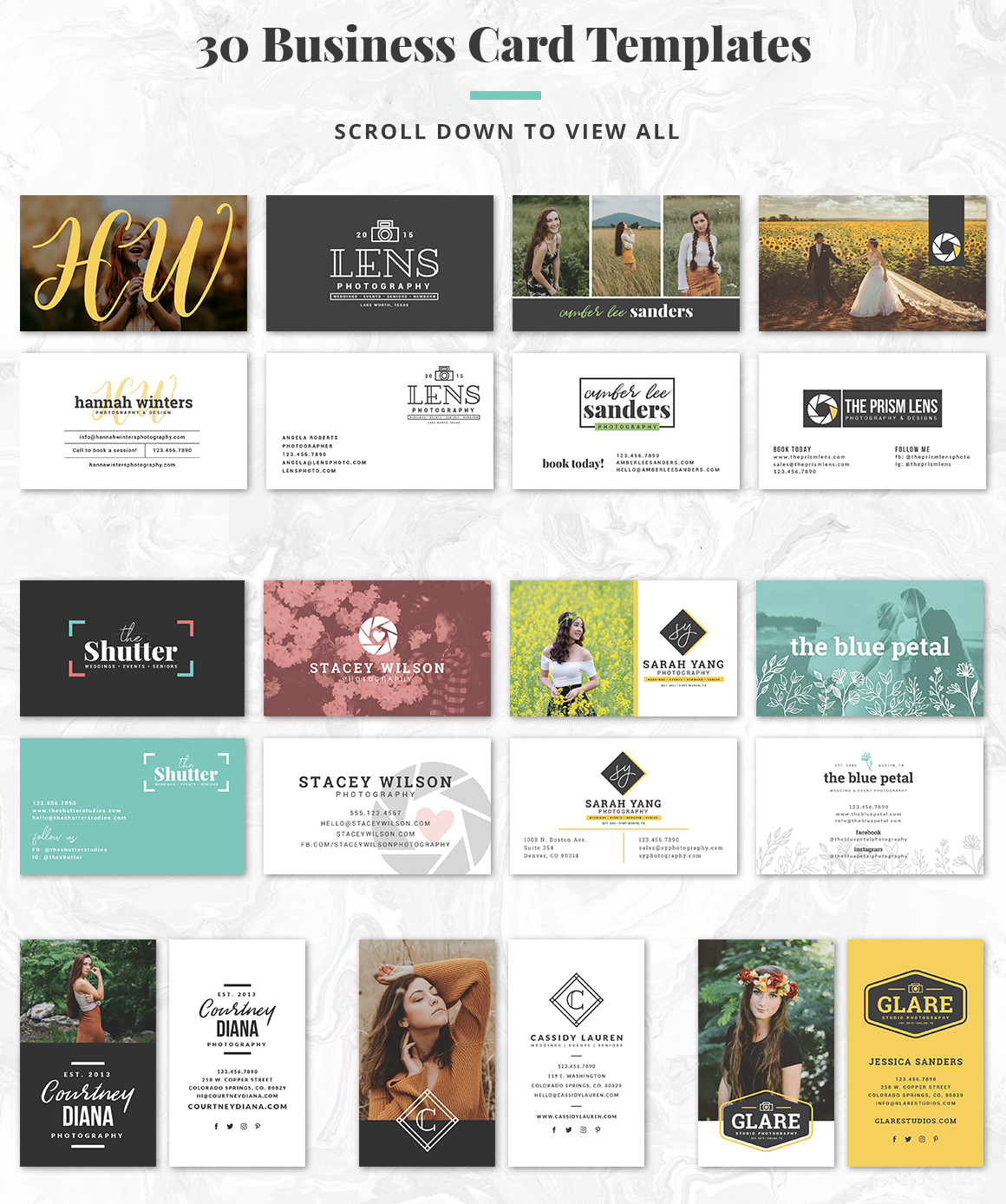 The Essential Photography Branding & Marketing Kit example image 6