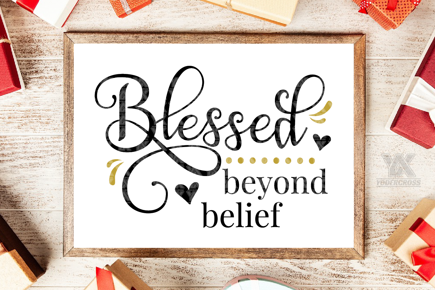 Blessed Beyond Belief SVG example image 1