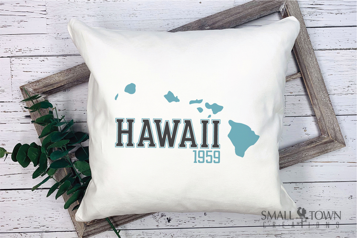 Hawaii, Aloha State - slogan, Logo, PRINT, CUT & DESIGN example image 5