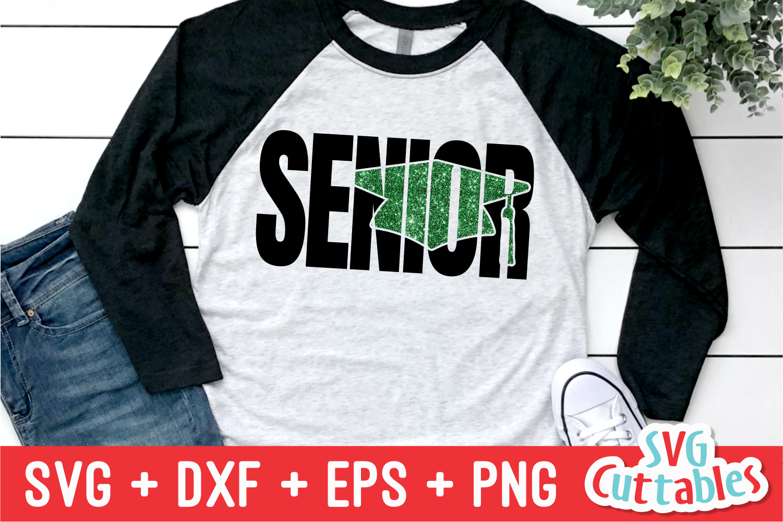 Grunge Senior  Graduation Cut File example image 2