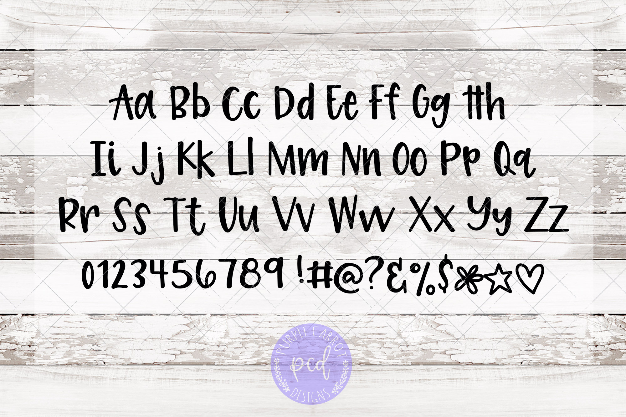 Lara Fun Font - A Fun Hand-Lettered Font example image 3