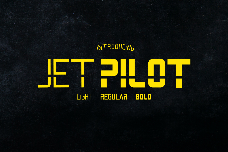 Jet Pilot Family example image 1