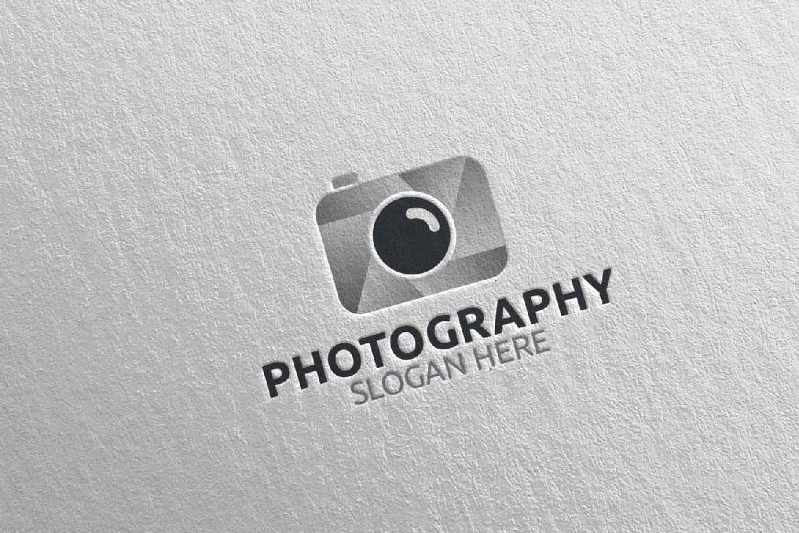 Abstract Camera Photography Logo 9 example image 4