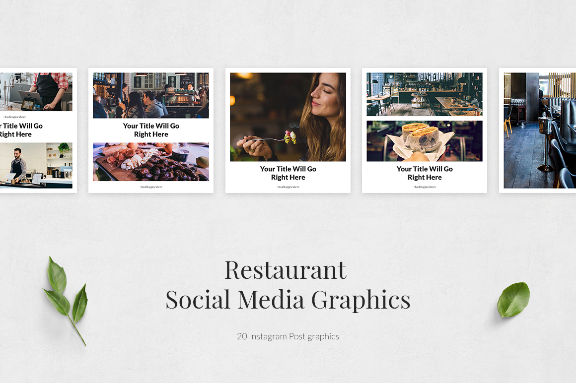 Restaurant Instagram Posts example image 2