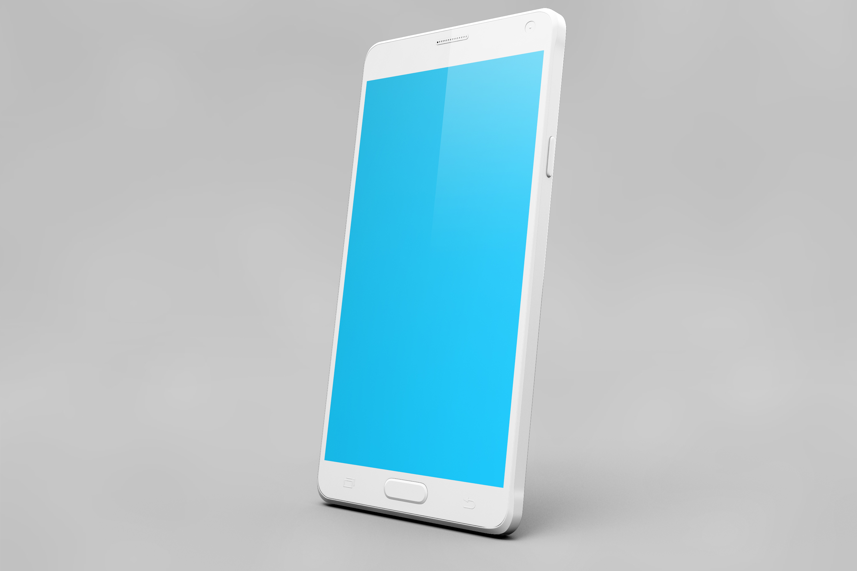 Samsung Galaxy Note 4 Mock-up example image 11
