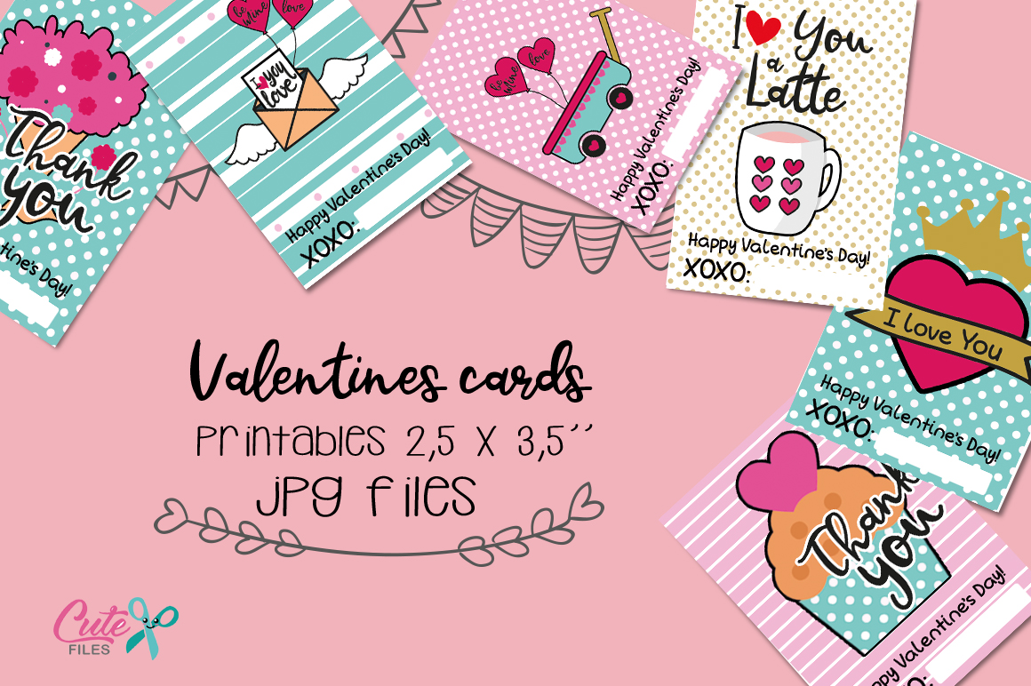 Valentines day Printable cards for your friends example image 3