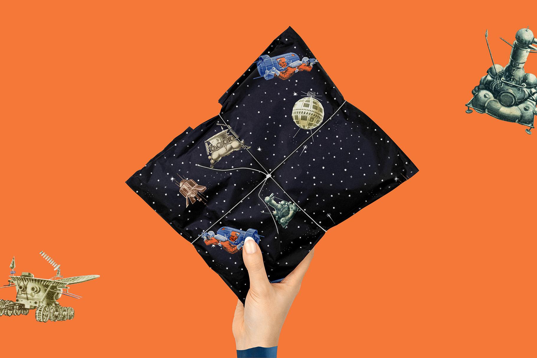 Gagarin - Patterns & Illustrations example image 4