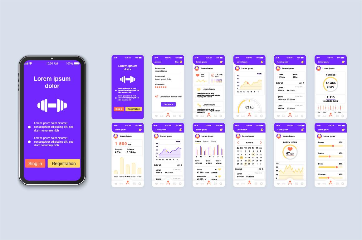 Bundle Mobile App UI Kit Screens example image 12