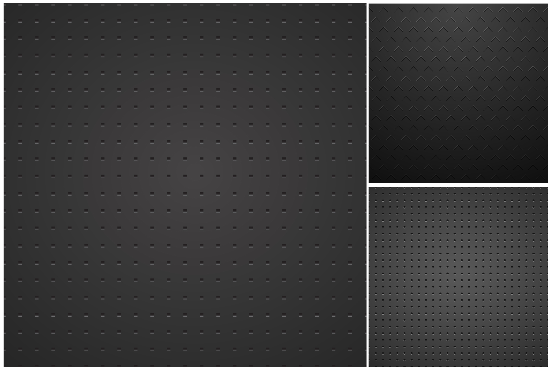 Metallic dark textures with holes. example image 4