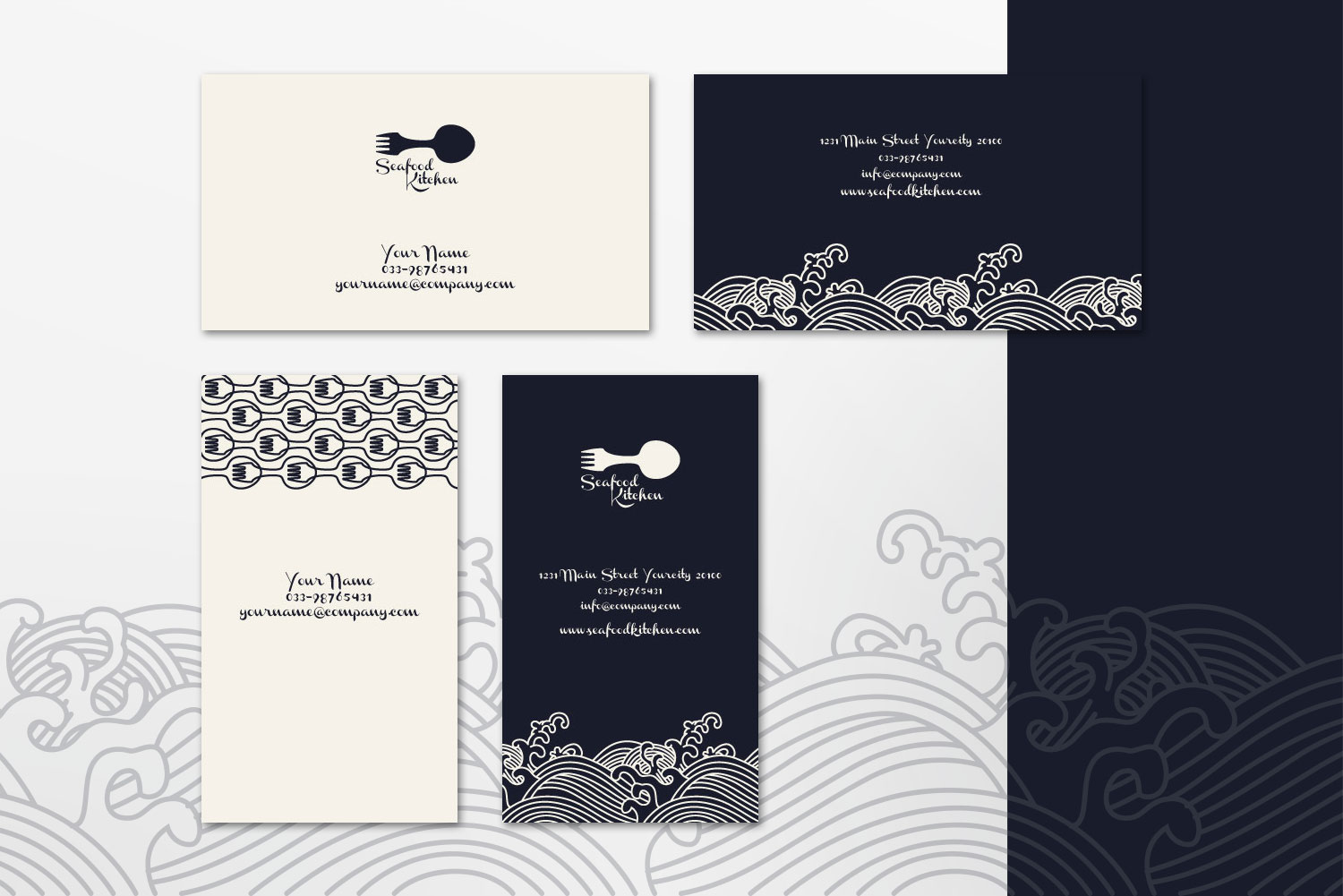 $10 for 5 - Business Card 01 example image 4