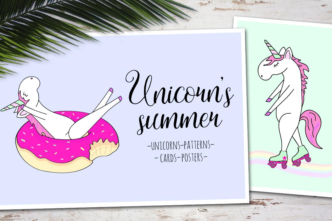 Unicorn's summer example image 1