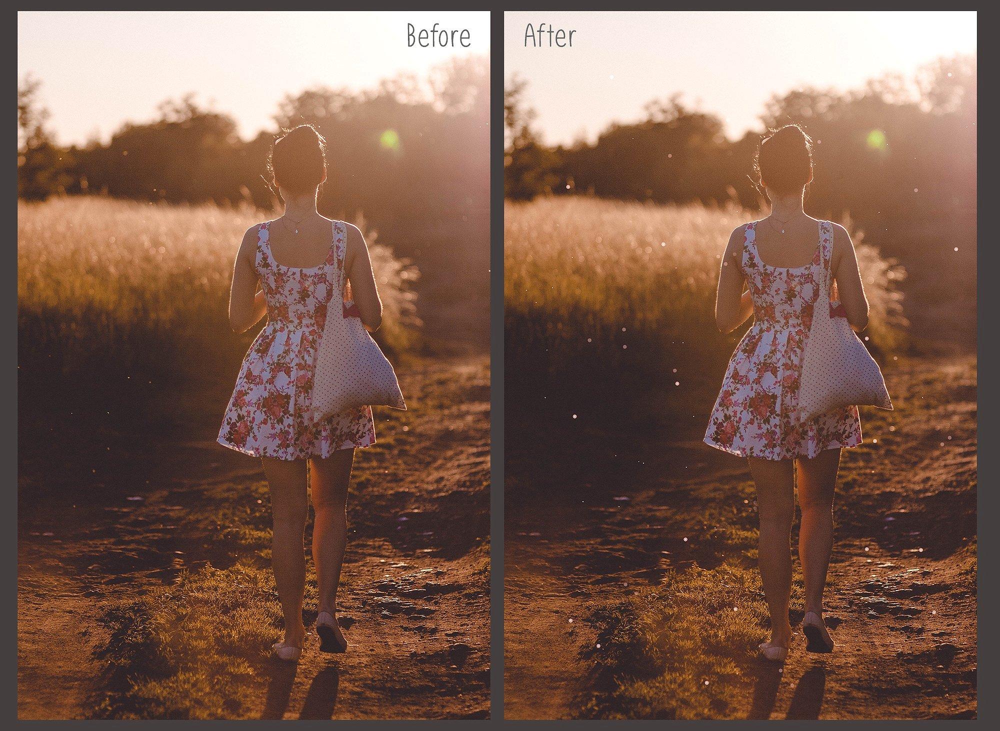 75 Floating Dust Photo Overlays example image 3