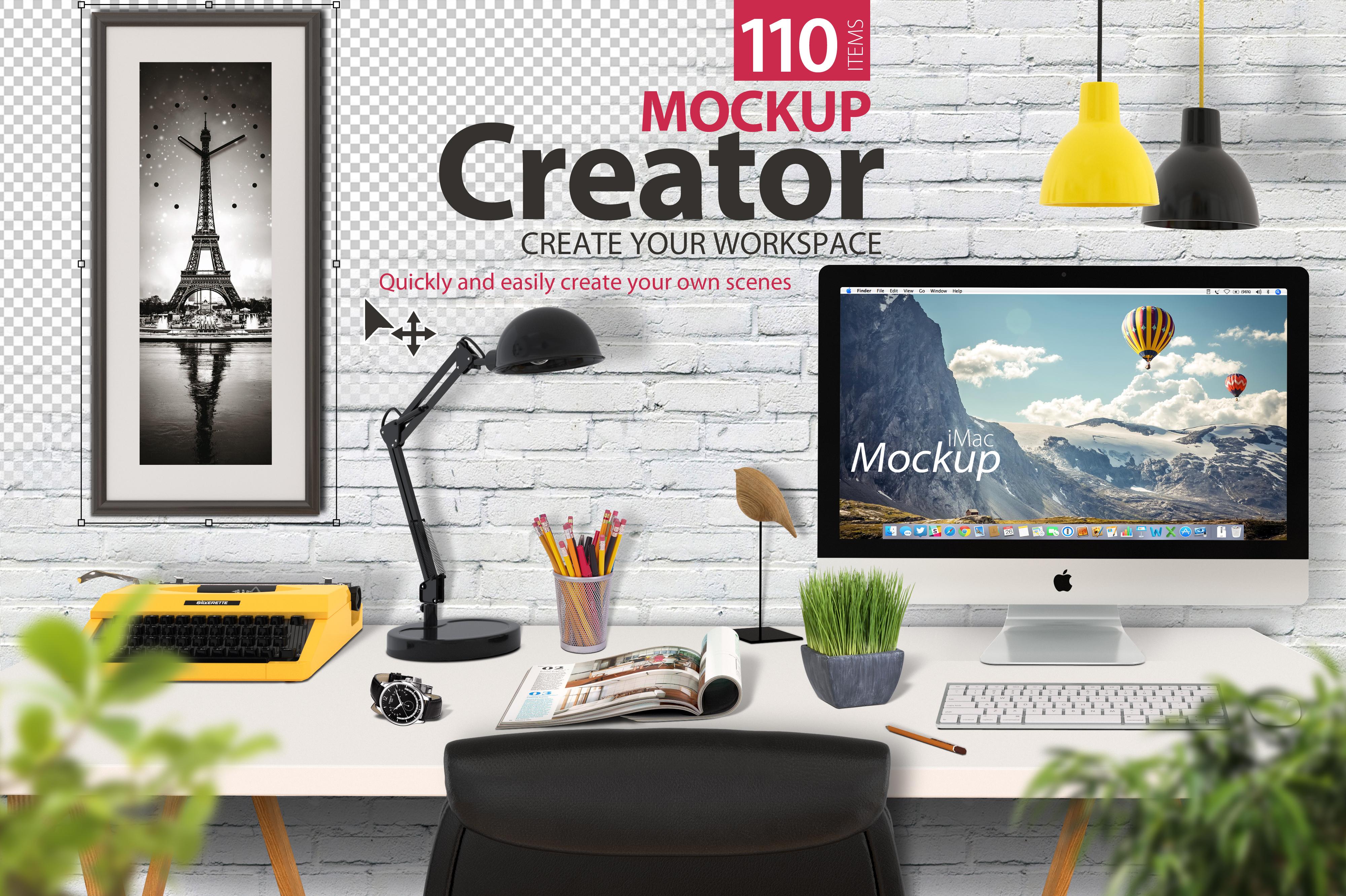 Mockup Creator (Scene Creator) example image 1
