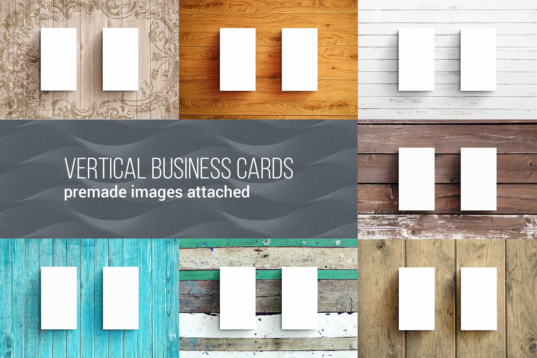 Business Card MockUps Bundle + Bonus example image 6