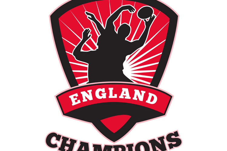 Rugby Player England Champions example image 1