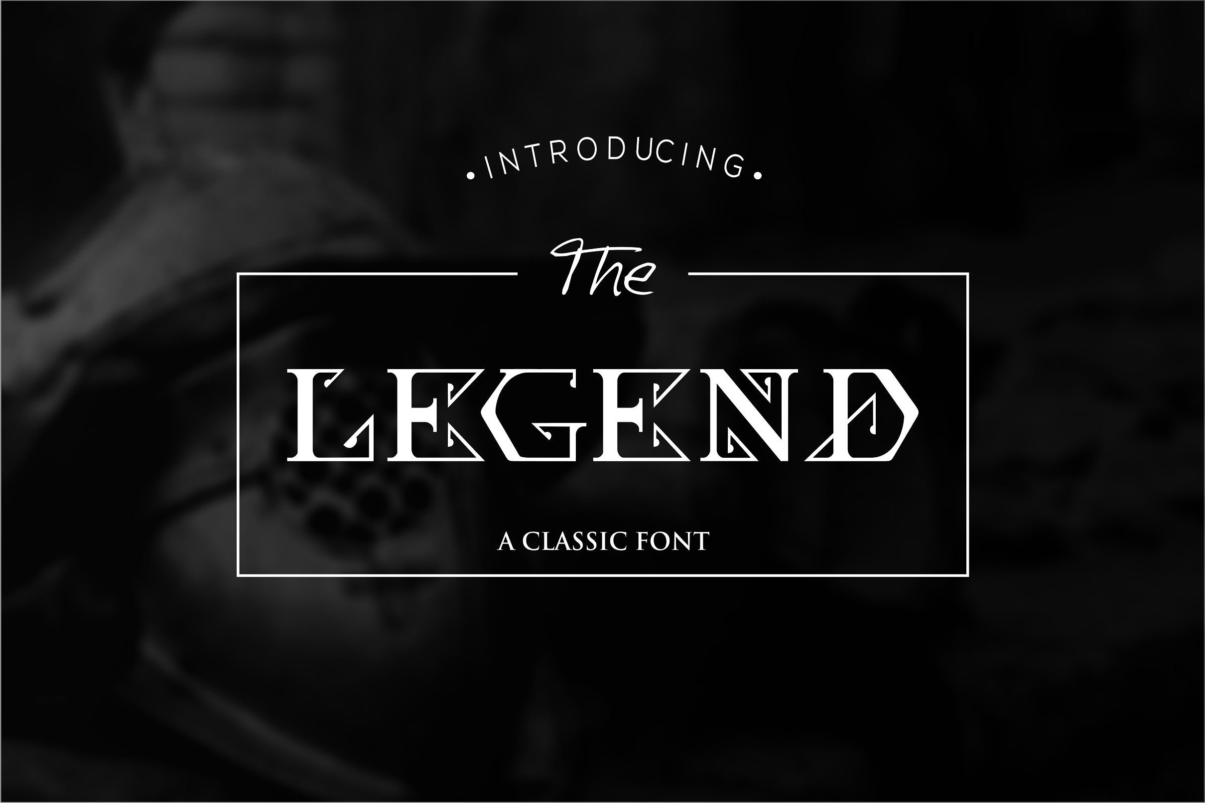 The Legend Font example image 1