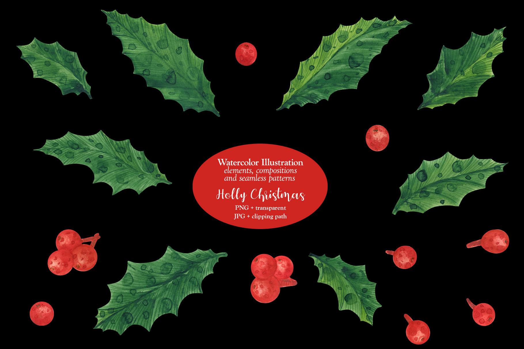 Holly Christmas example image 6