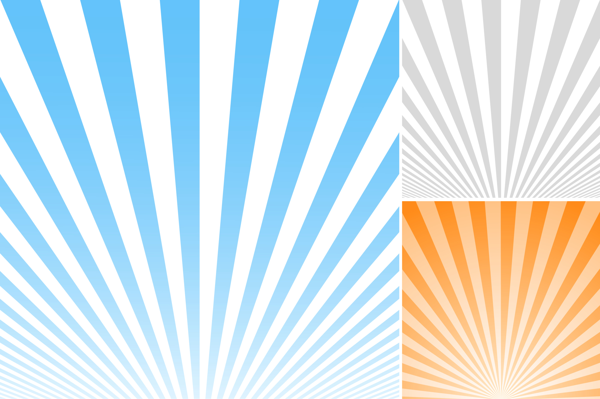 Collection of striped backgrounds. example image 3