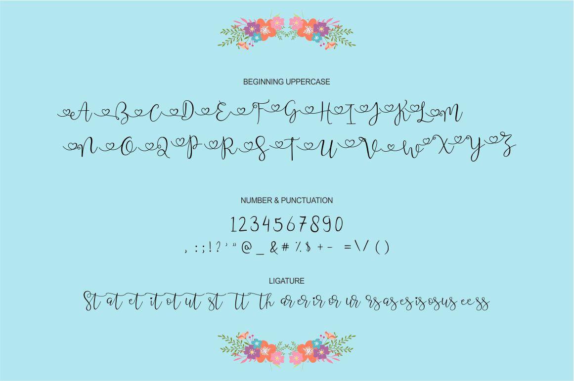 Wisteria Script example image 4