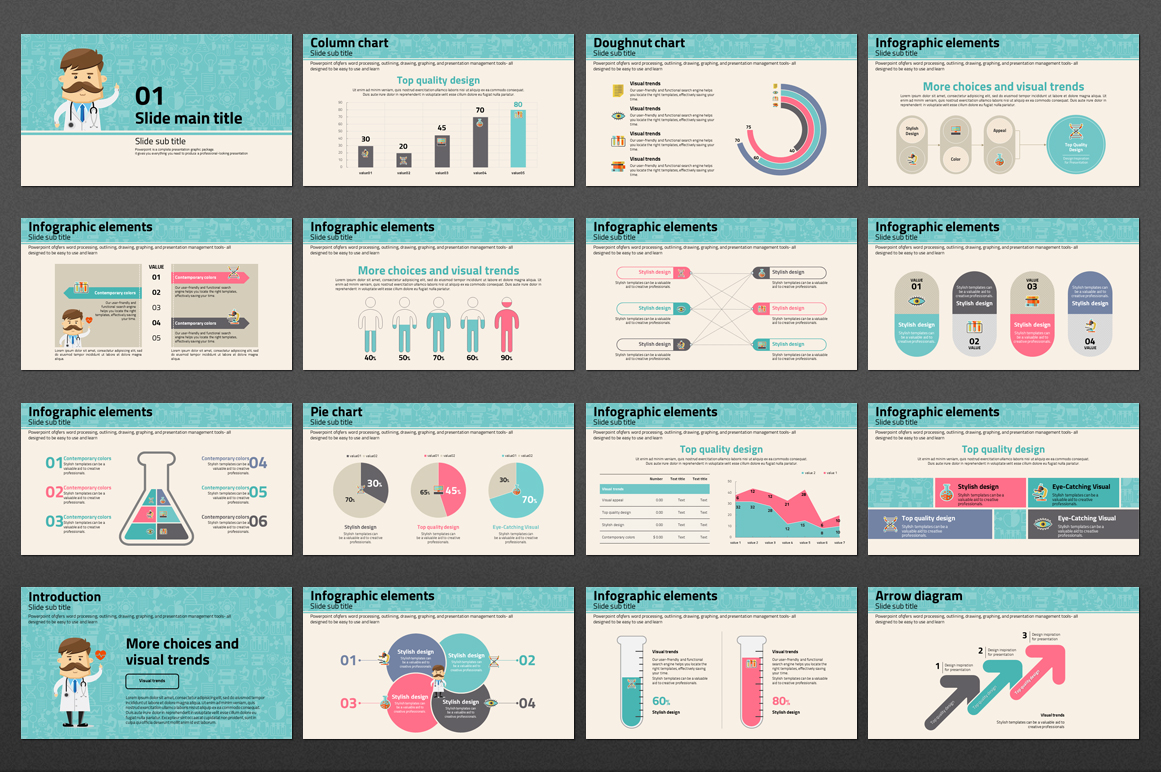 Doctor PowerPoint Template example image 2