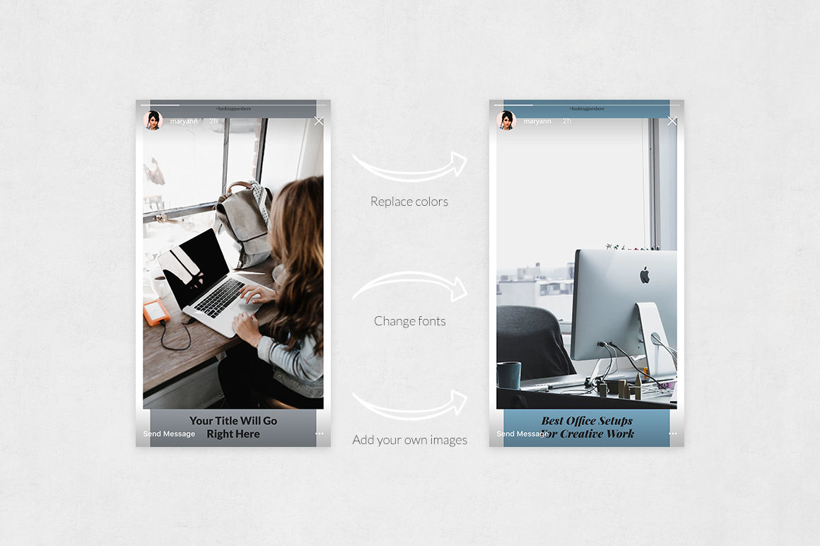 Office Animated Instagram Stories example image 5