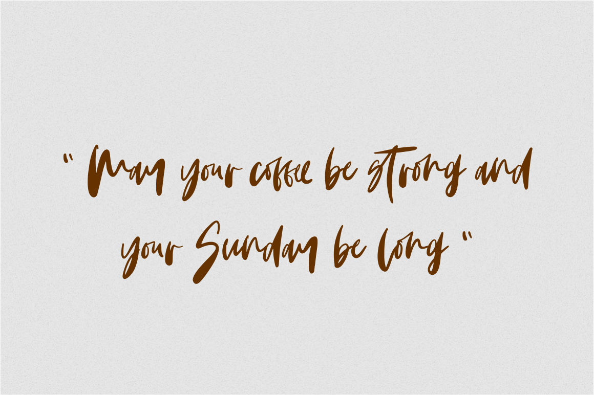 Monday Vibes - Handwritten Font example image 7