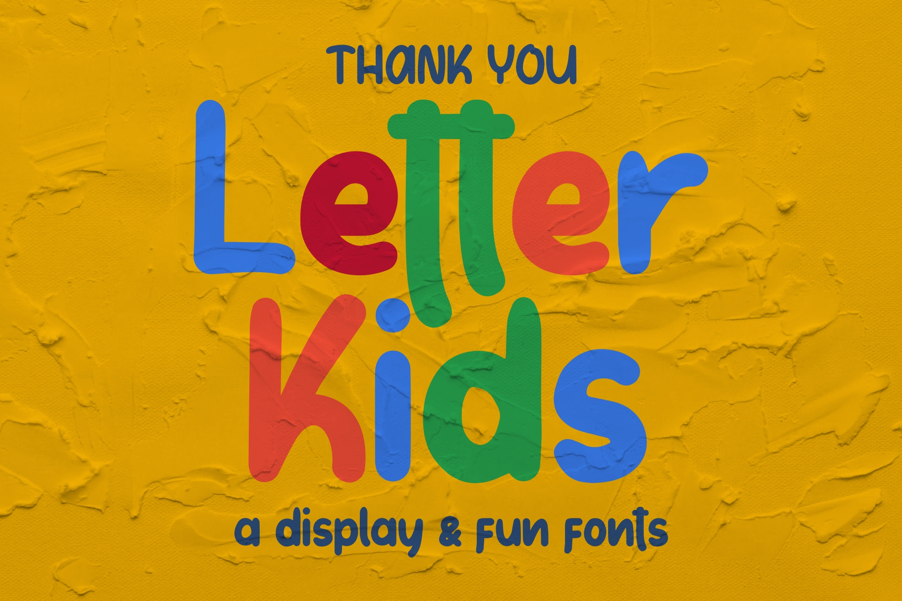 LETTER KIDS Display Fonts example image 9