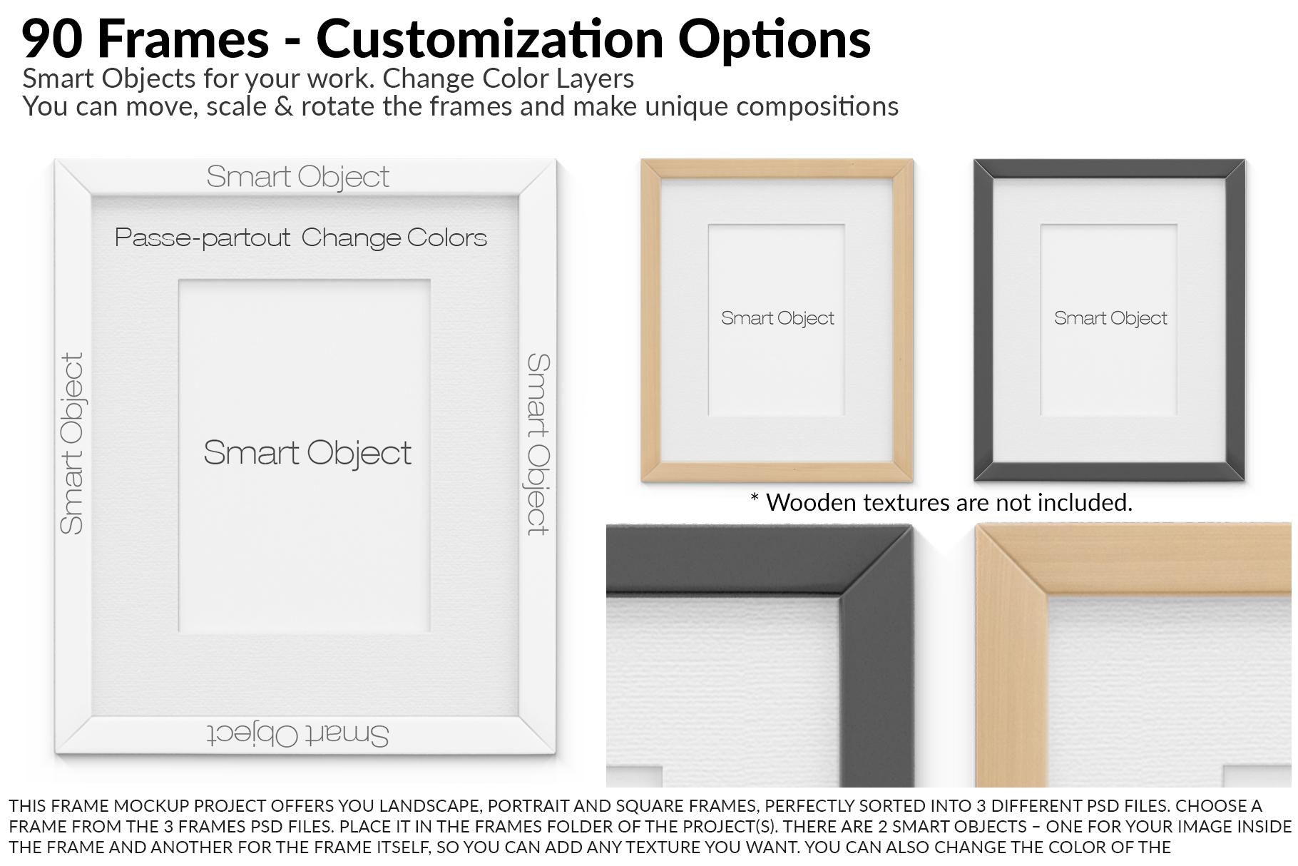 Custom Frames Set example image 6