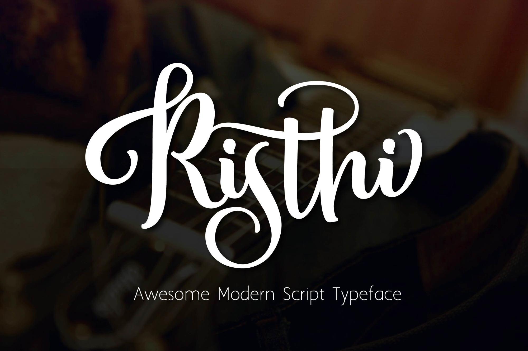 RISTHI Script example image 8
