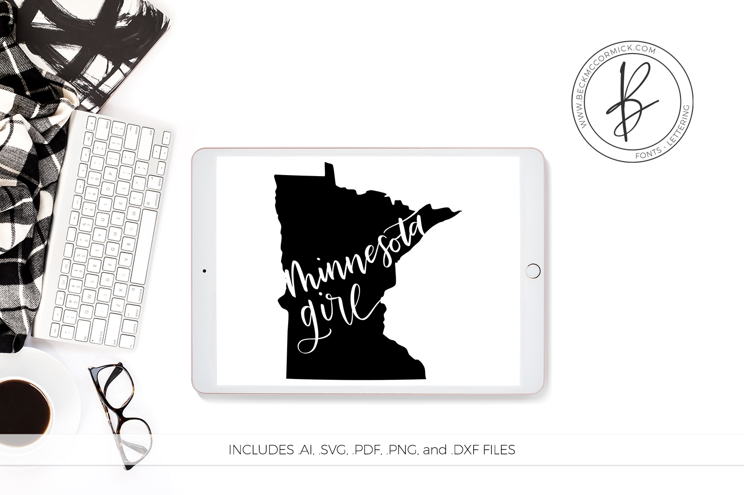 The US State Girl SVG Bundle example image 6