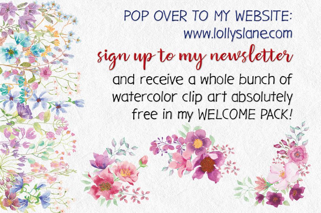 Blush foliage clip art bundle example image 11