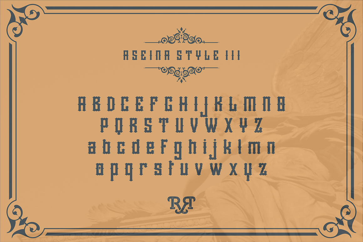 Aseina typeface example image 5