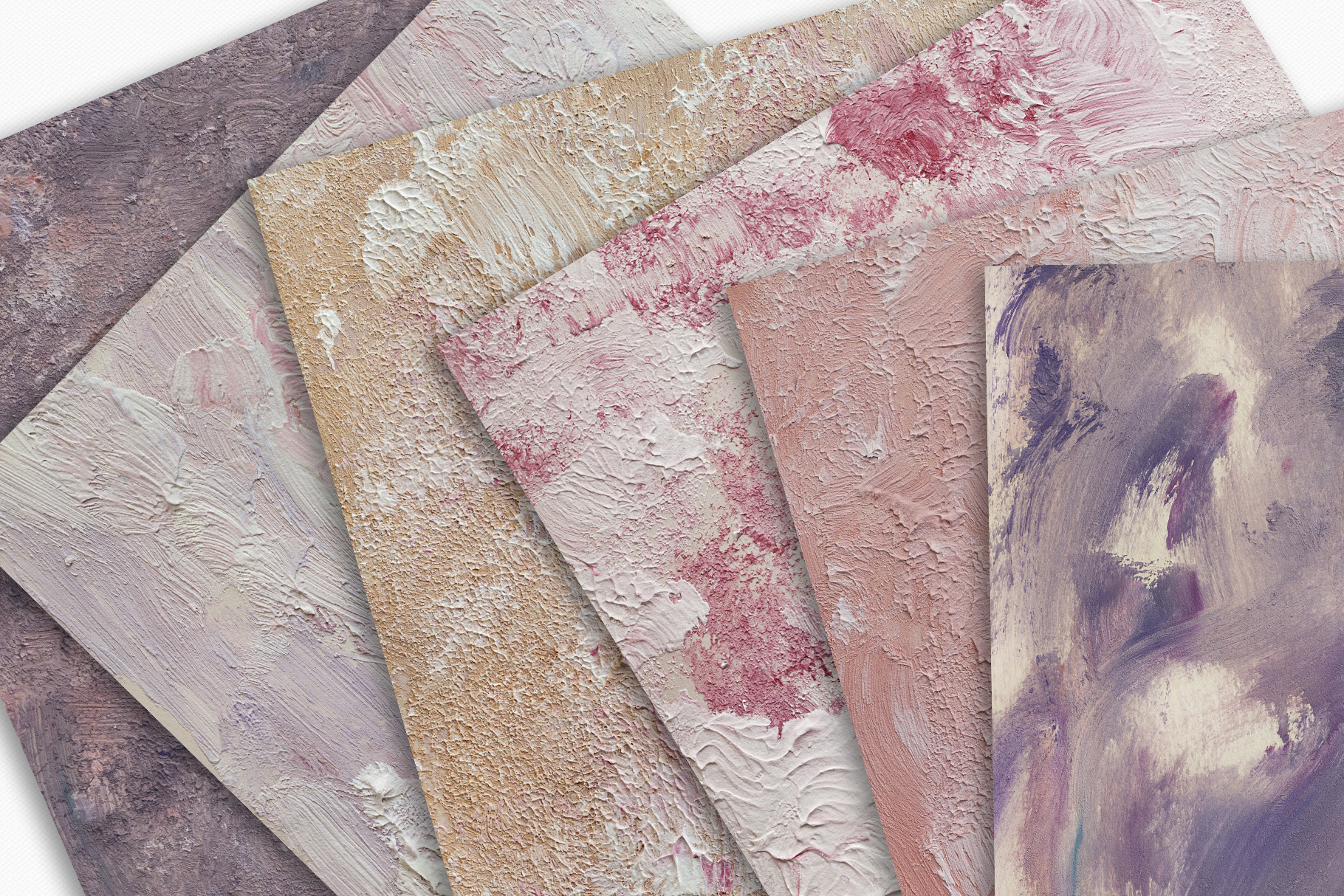 Fine Art Acrylic Paint Textures - Hand Painted Backgrounds example image 5