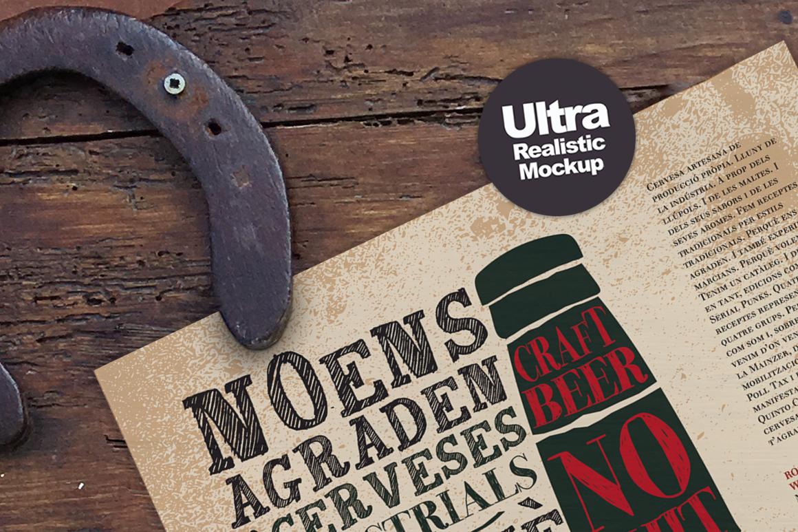 The Horseshoe Poster Mockup example image 5