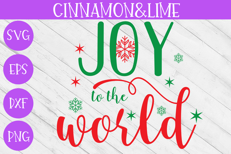 Christmas Svg - Joy to the World example image 1