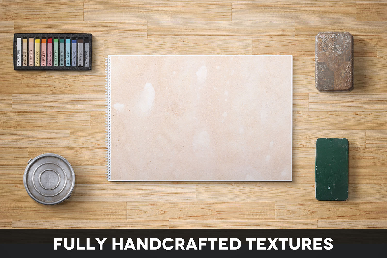 Handcrafted Vintage Paper Textures Vol. 03 example image 2