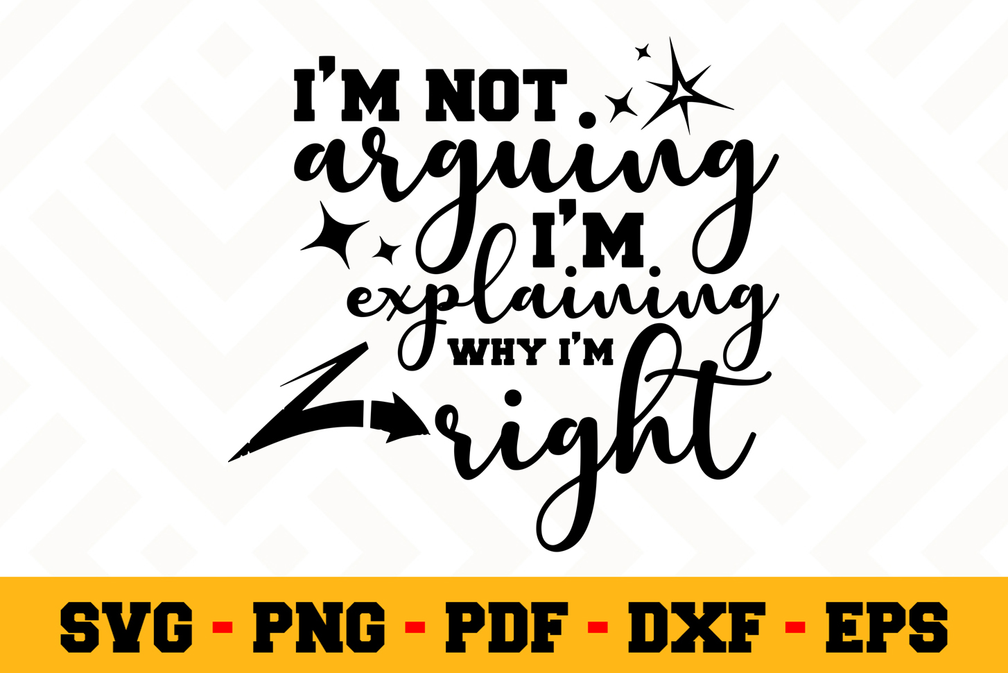 Funny SVG Design n642   Funny Quote SVG Cut File example image 1