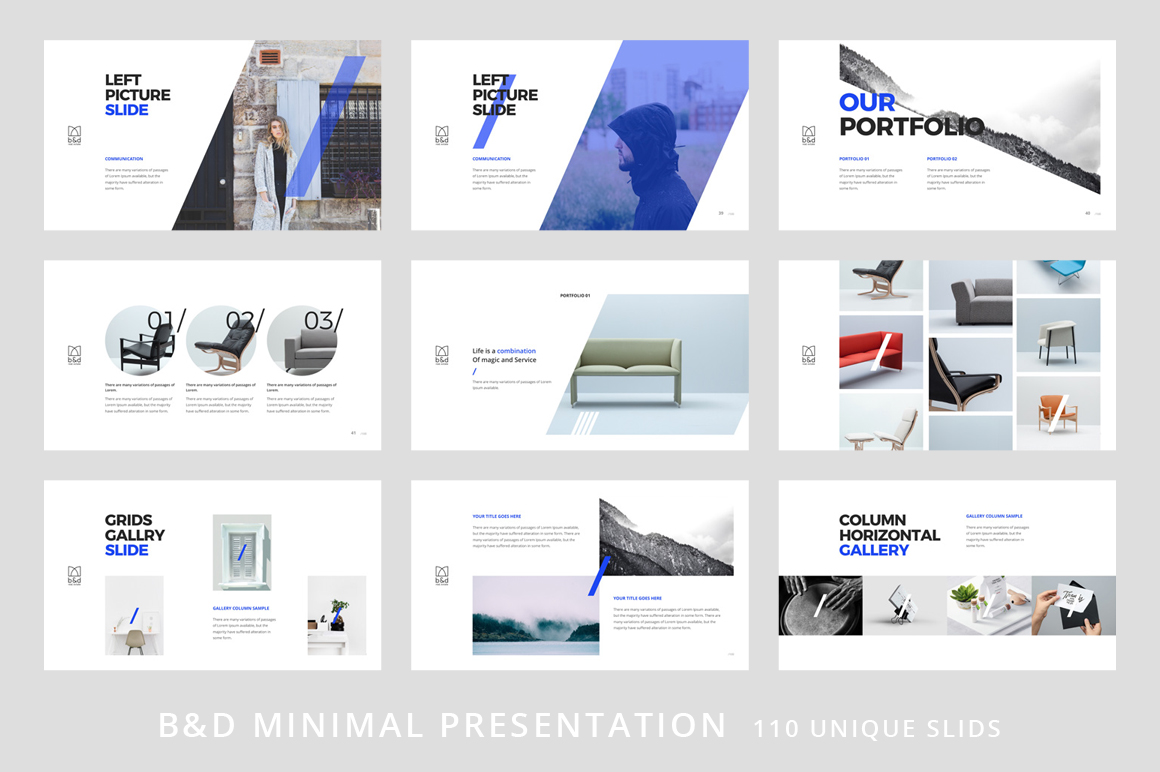 B&D-Powerpoint & Keynote Template example image 6