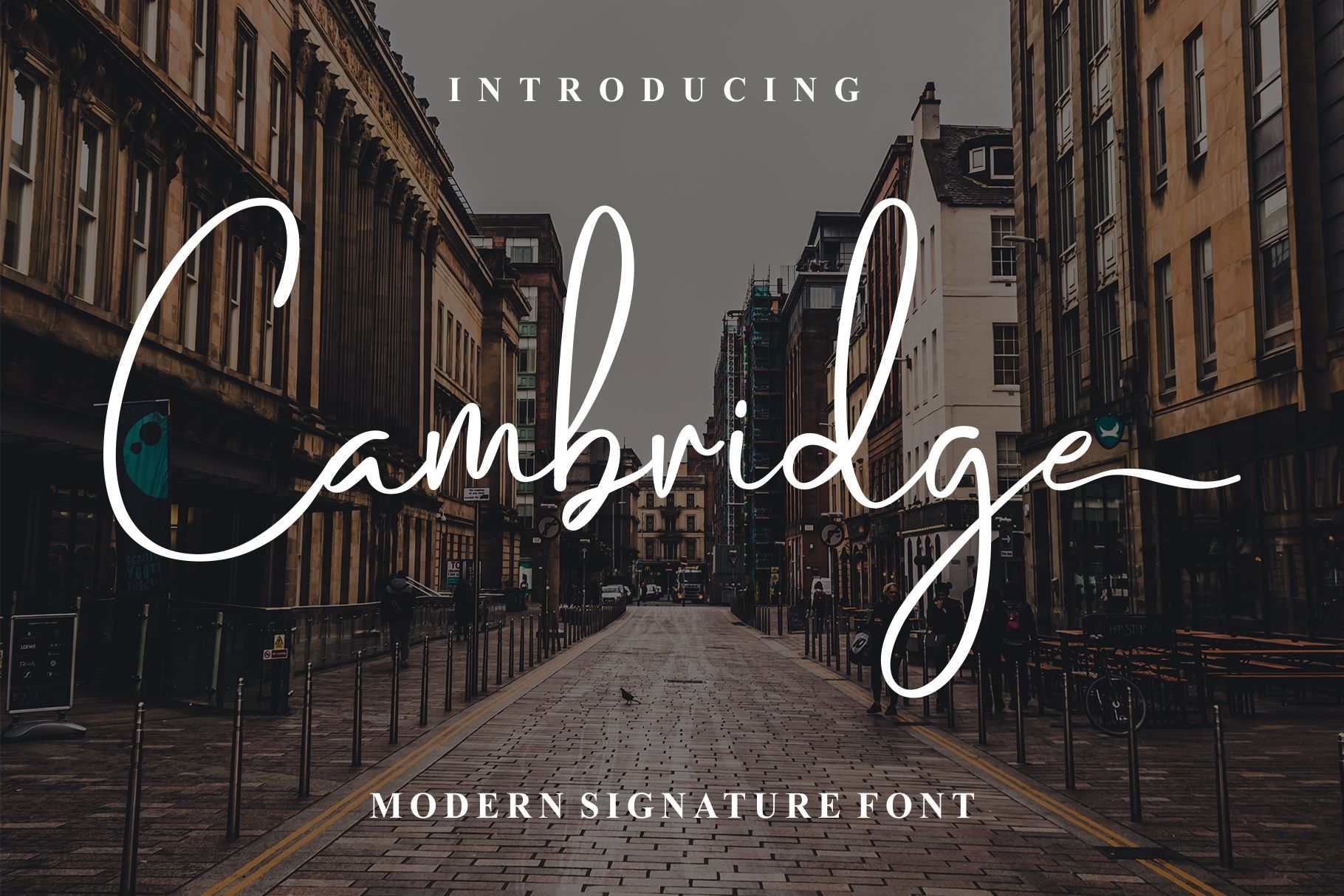 Cambridge Modern Signature example image 14