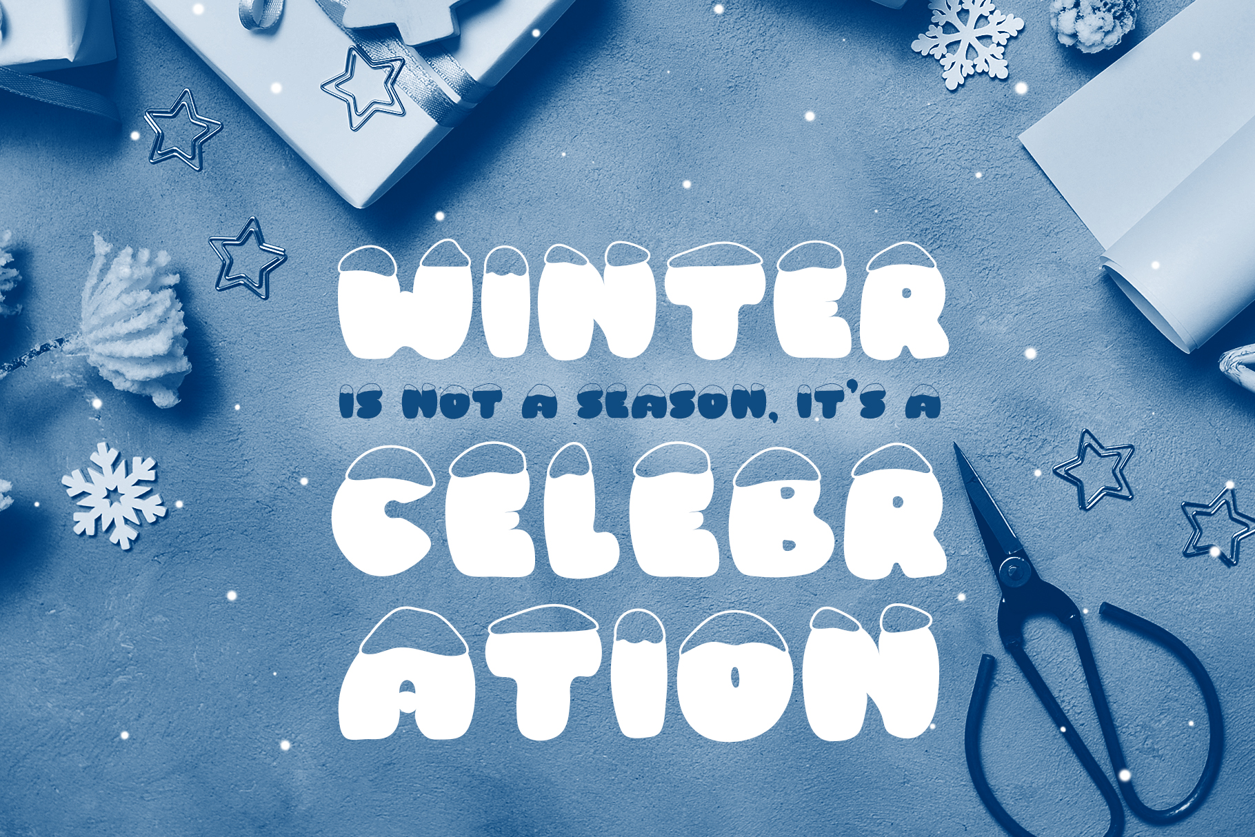 Frosty Joy Hand Drawn Display Font example image 5