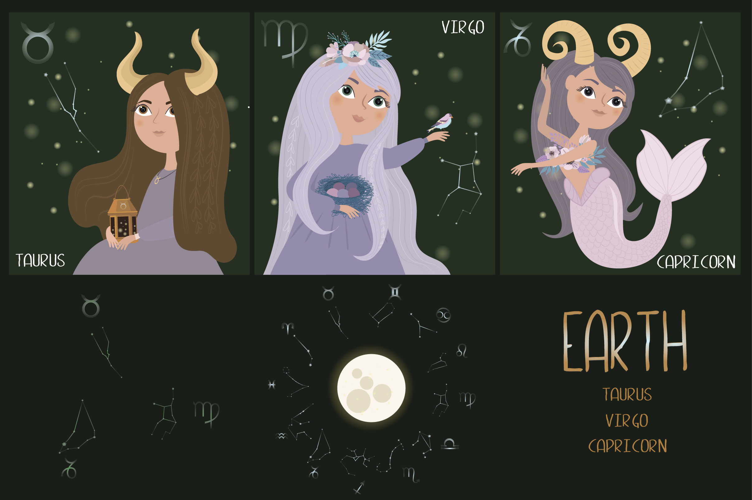 Zodiac. Magic Collection example image 3