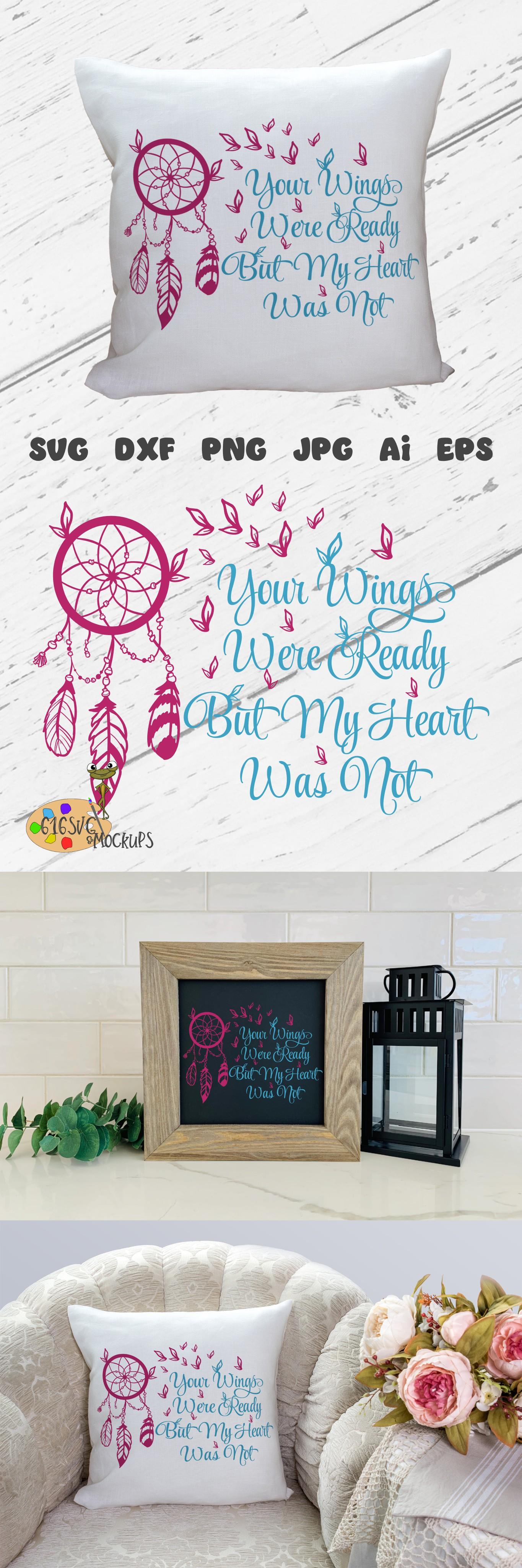 Your wings were ready but my heart was not SVG example image 5