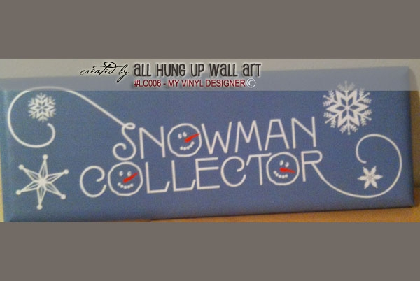 LC006 - Winter Snowman example image 6