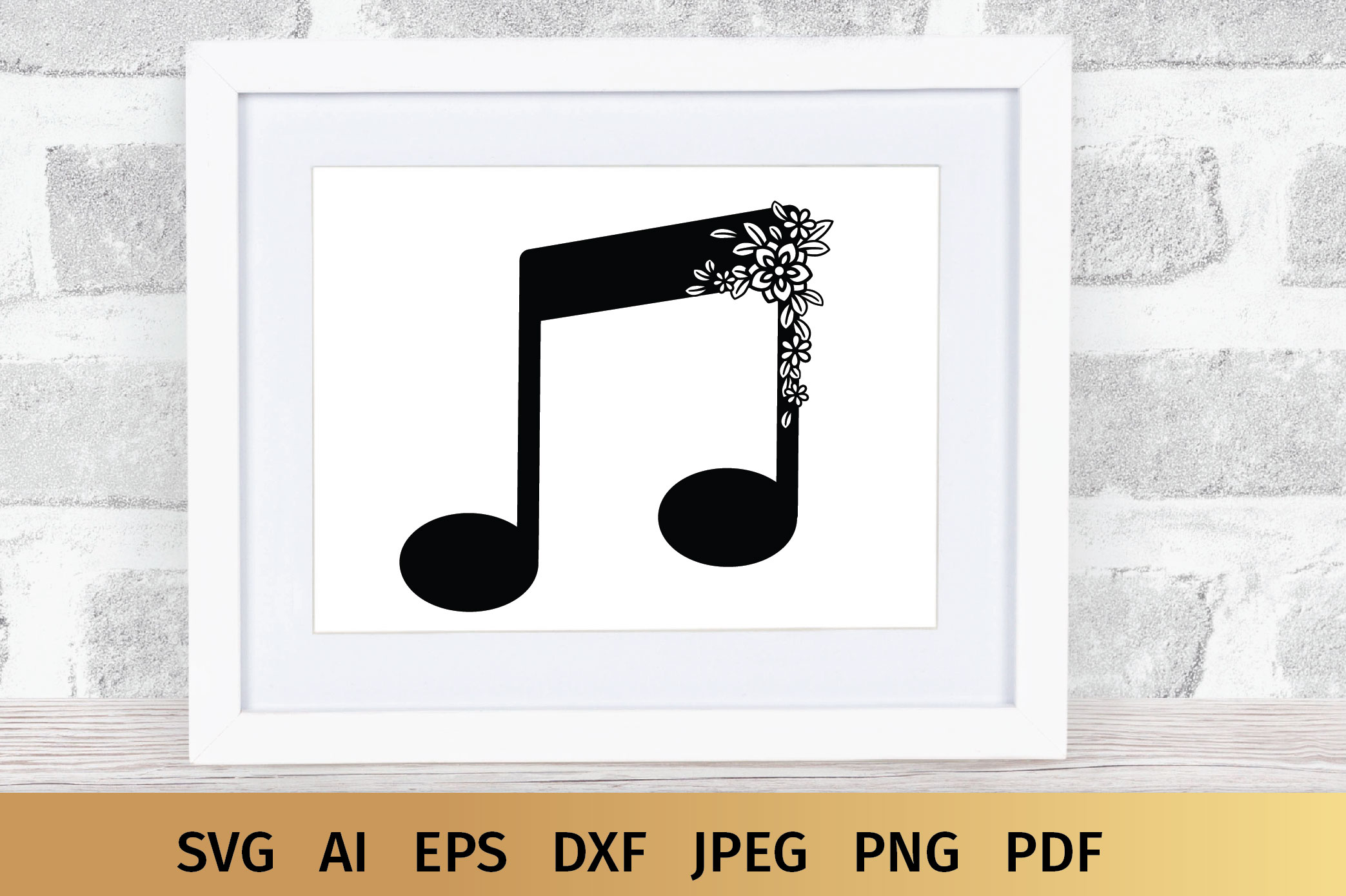 Music Notes svg example image 8