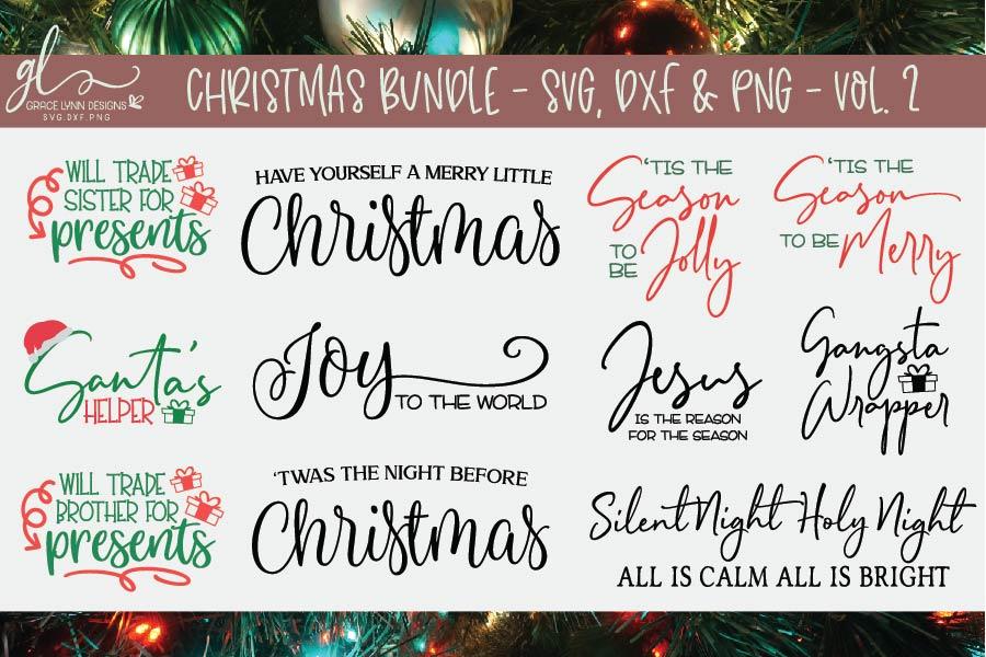 Farmhouse Christmas Bundle - 95 Christmas Designs example image 9