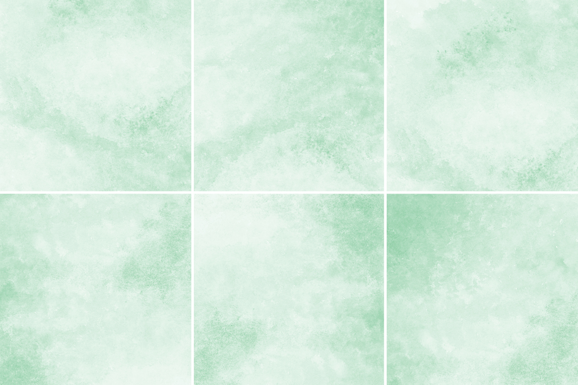 Mint Green Watercolor Texture Backgrounds example image 2