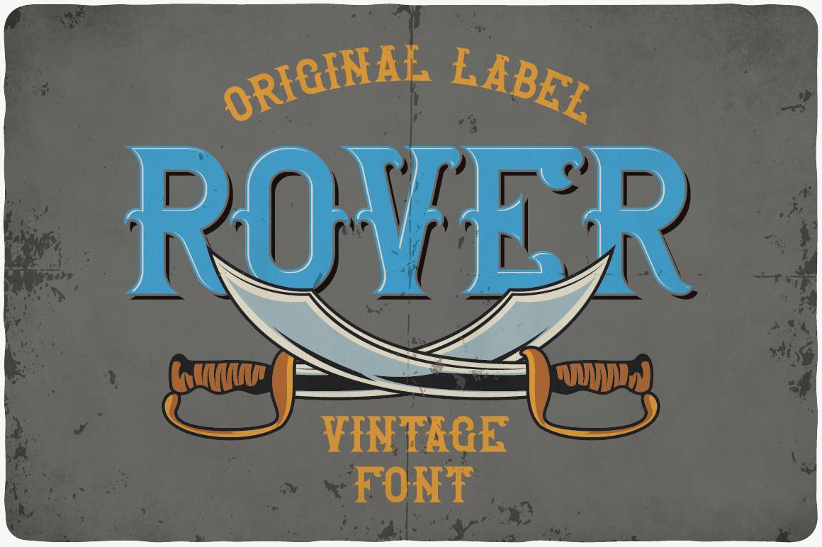 Vintage Fonts Bundle example image 24